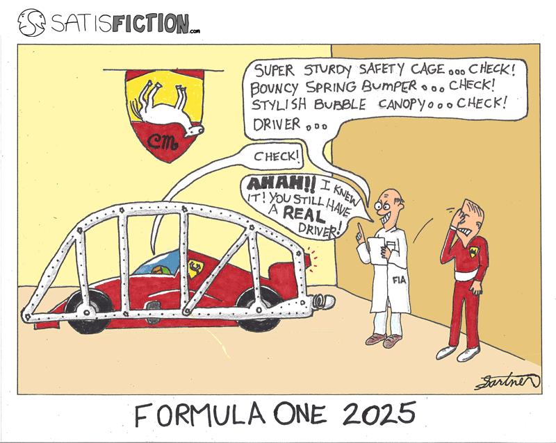 F1 in 2025