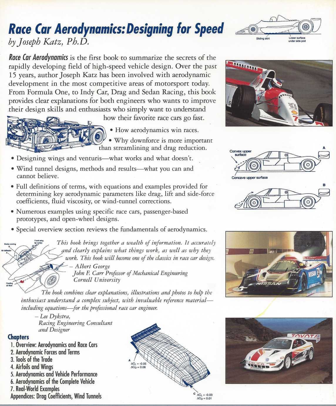 """aerodynamics of race cars essay Let us write or edit the research paper on your topic forces in aerodynamics:  (""""forces in aerodynamics: blended wing body research  in the race to get."""