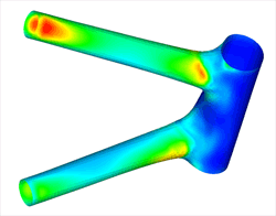 Structural analysis of part in Autodesk FEA