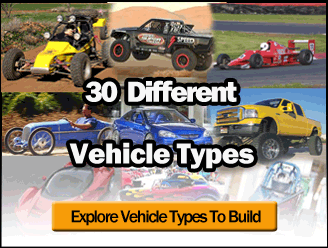 30 Types of Cars You Can Build! Race, Road, Off-Road!