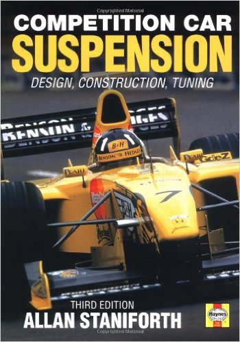 Build A Car From Scratch >> Book Review: Competition Car Suspension | Build Your Own ...